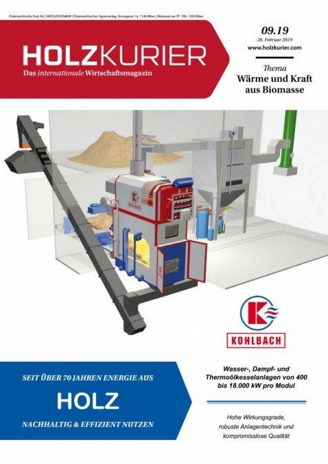 Holzkurier Digital Nr. 09.2019