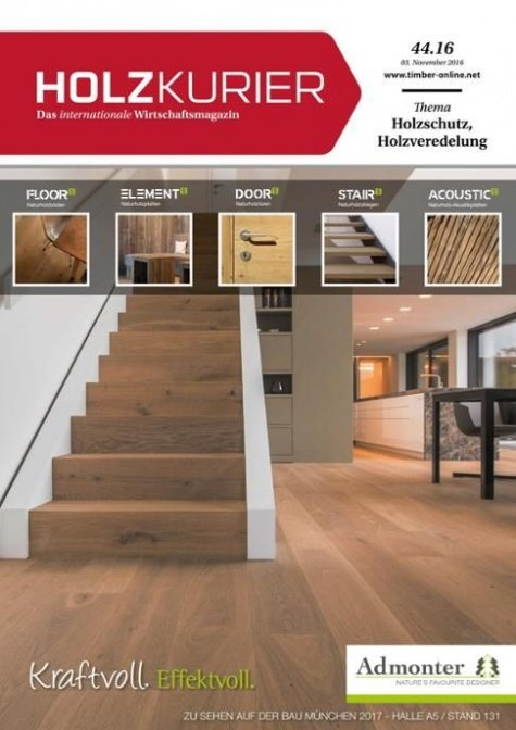 Holzkurier Digital Nr. 44.2016