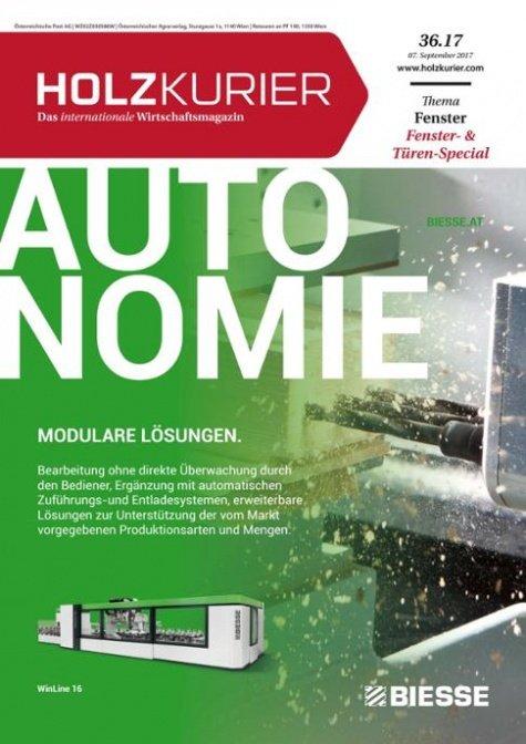 Holzkurier Digital Nr. 36.2017