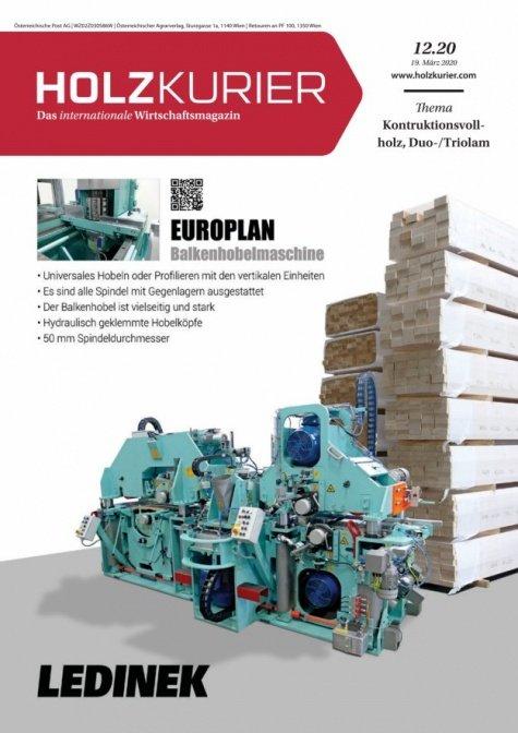 Holzkurier Digital Nr. 12.2020