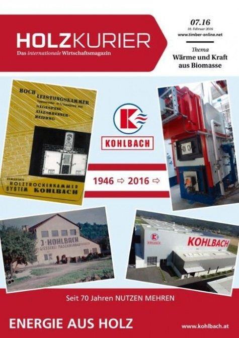 Holzkurier Digital Nr. 7.2016
