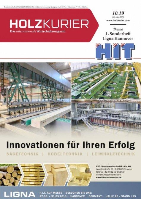Holzkurier Digital Nr. 18.2019