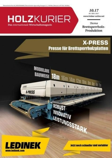 Holzkurier Digital Nr. 10.2017