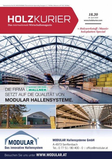 Holzkurier Digital Nr. 18.2020