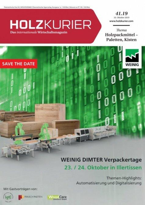 Holzkurier Digital Nr. 41.2019