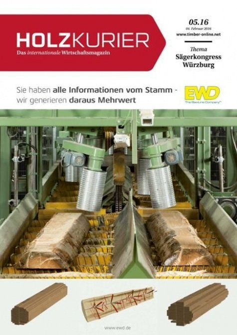 Holzkurier Digital Nr. 5.2016