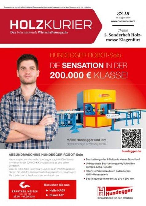 Holzkurier Digital Nr. 32.2018