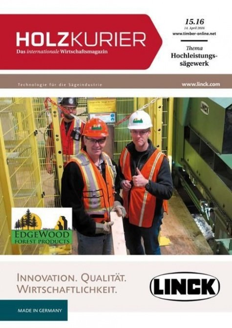 Holzkurier Digital Nr. 15.2016