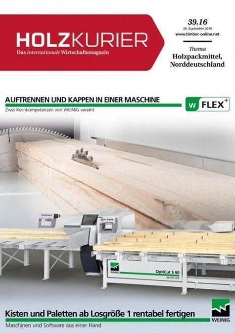 Holzkurier Digital Nr. 39.2016