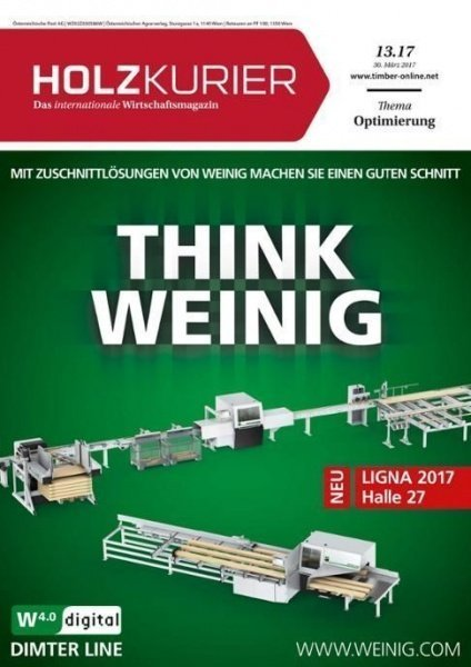 Holzkurier Nr. 13.2017