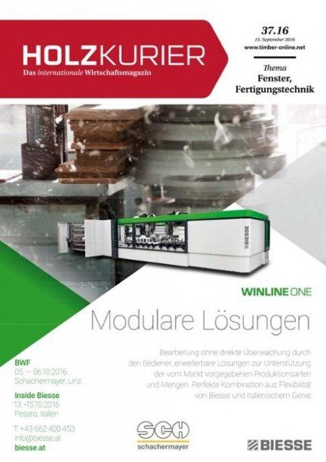 Holzkurier Digital Nr. 37.2016