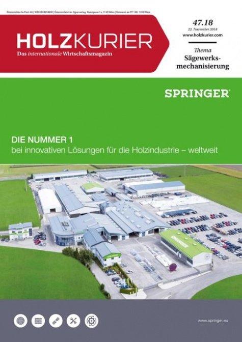 Holzkurier Digital Nr. 47.2018