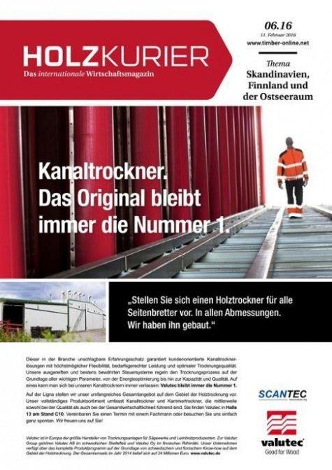Holzkurier Digital Nr. 6.2016