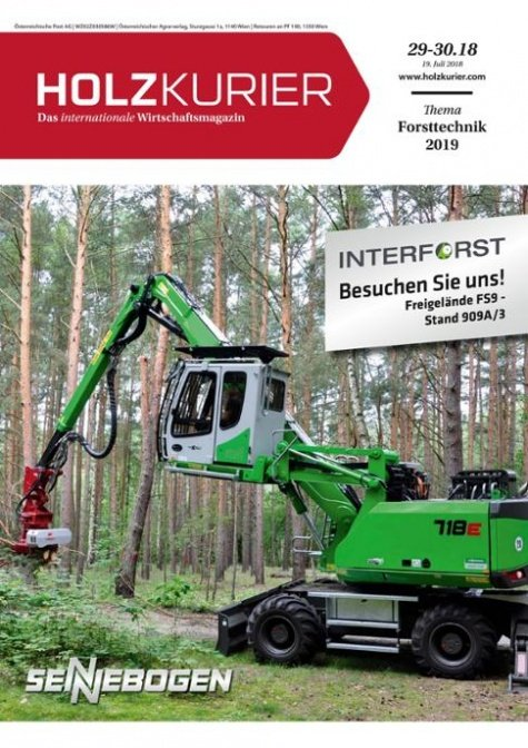 Holzkurier Digital Nr. 29-30.2018
