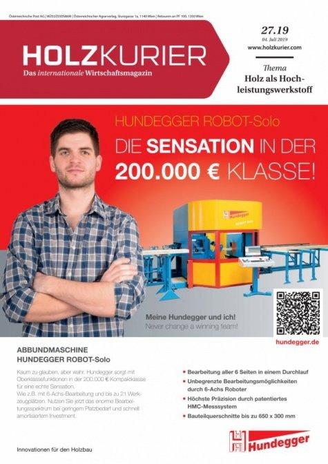 Holzkurier Digital Nr. 27.2019
