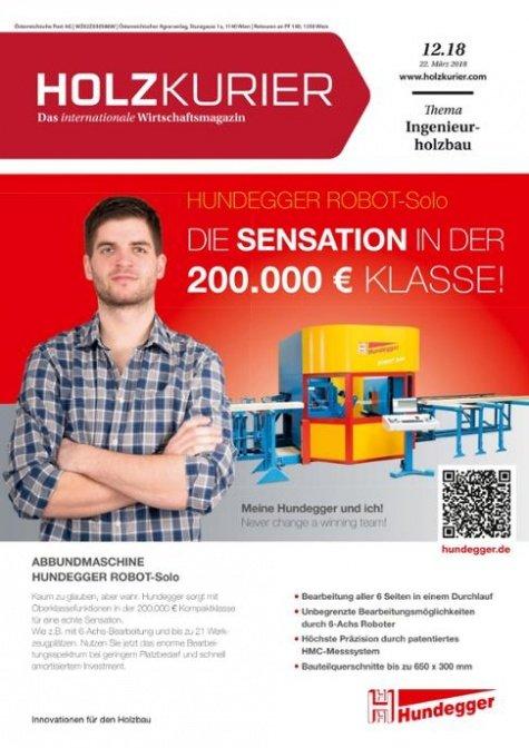 Holzkurier Digital Nr. 12.2018
