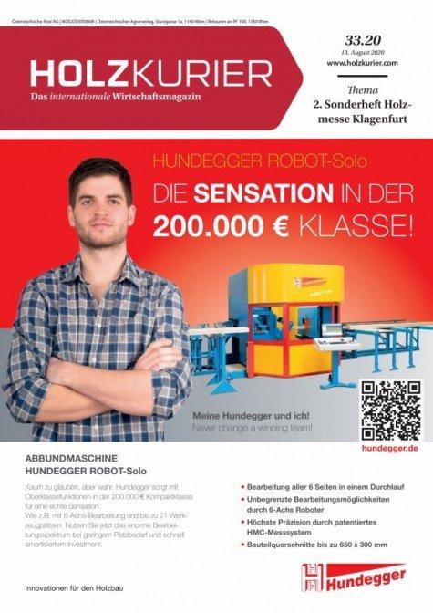Holzkurier Digital Nr. 33.2020