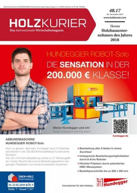 Holzkurier Digital Nr. 48.2017