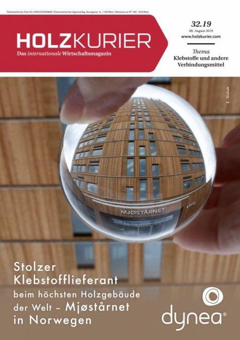 Holzkurier Digital Nr. 32.2019