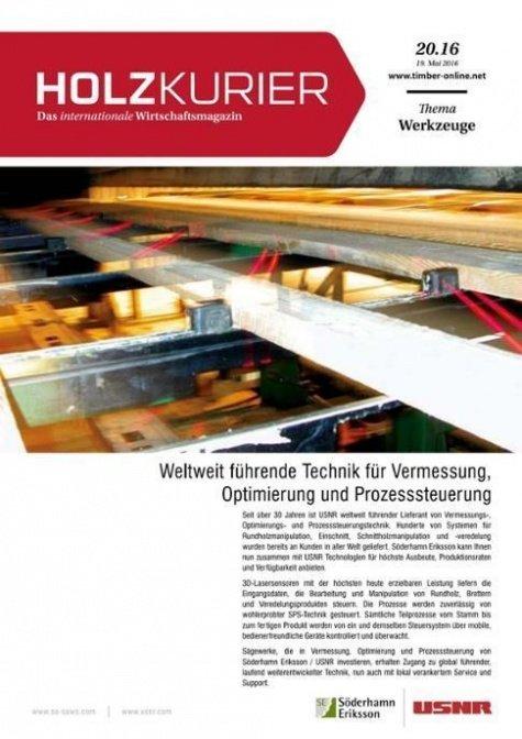 Holzkurier Digital Nr. 20.2016
