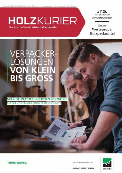 Holzkurier Digital Nr. 37.2020