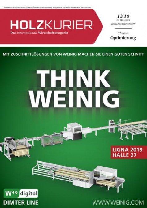 Holzkurier Digital Nr. 13.2019