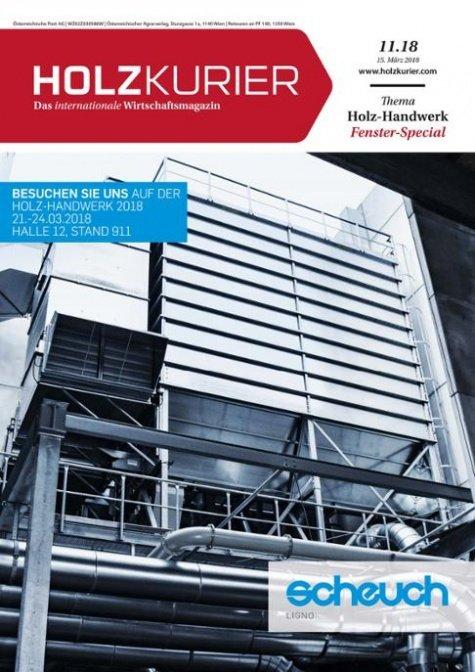 Holzkurier Digital Nr. 11.2018