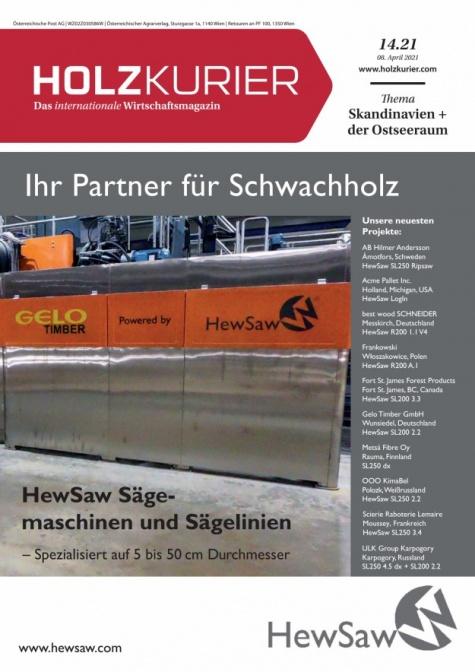 Holzkurier Digital Nr. 14.2021