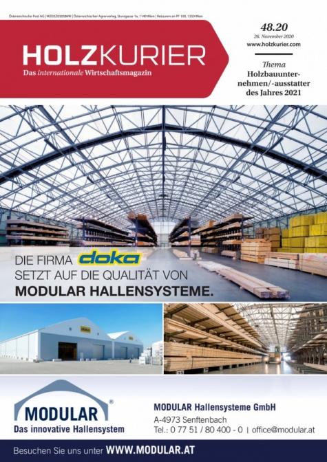 Holzkurier Digital Nr. 48.2020