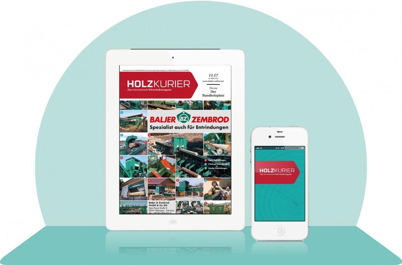 Holzkurier E-Paper-Abonnement