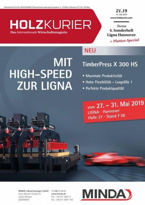 Holzkurier Digital Nr. 21.2019