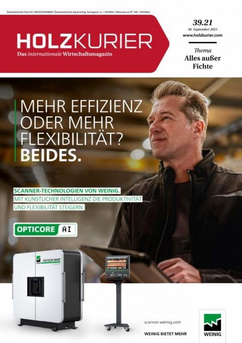 Holzkurier Digital Nr. 39.2021