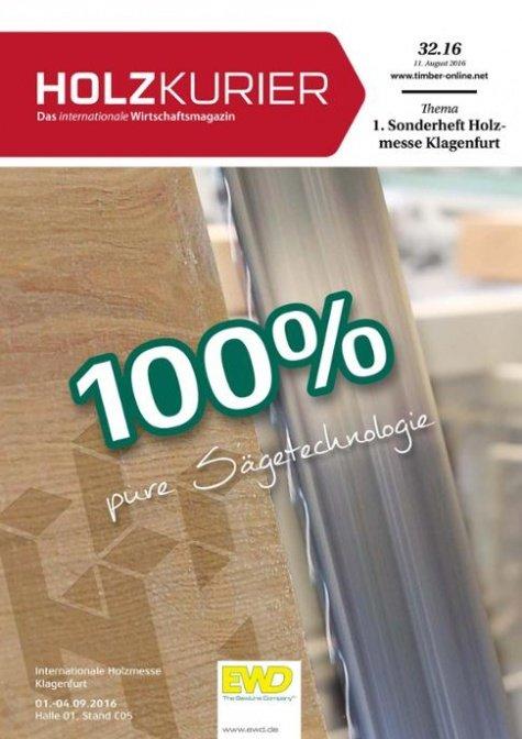 Holzkurier Digital Nr. 32.2016