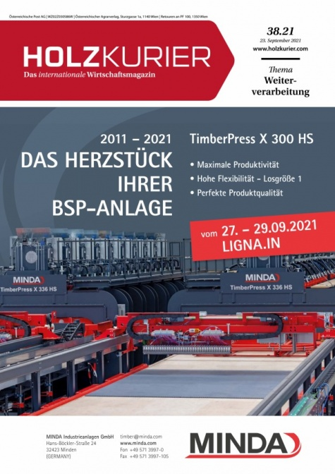 Holzkurier Digital Nr. 38.2021