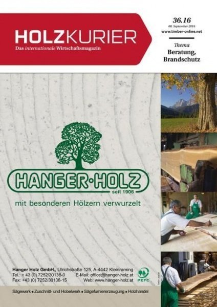 Holzkurier Nr. 36.2016
