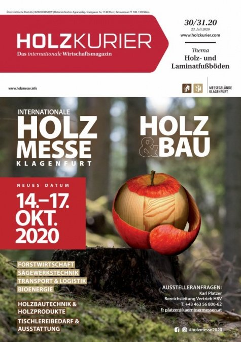 Holzkurier Digital Nr. 30.2020