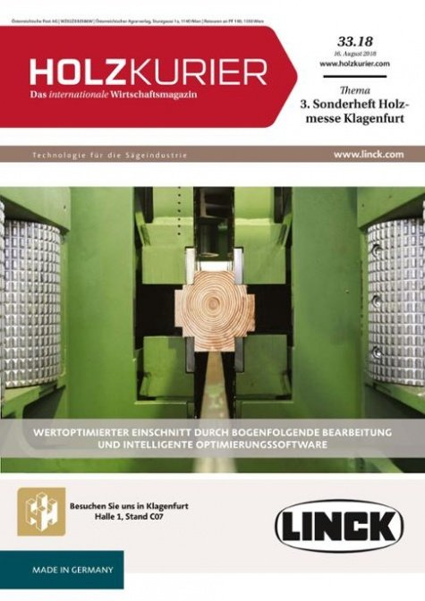 Holzkurier Digital Nr. 33.2018