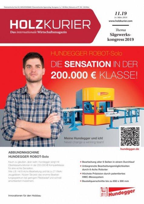 Holzkurier Digital Nr. 11.2019