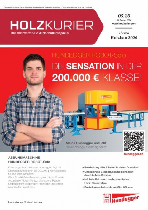 Holzkurier Digital Nr. 05.2020