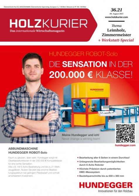 Holzkurier Digital Nr. 36.2021