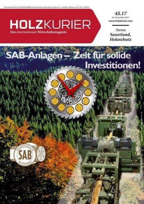 Holzkurier Digital Nr. 45.2017
