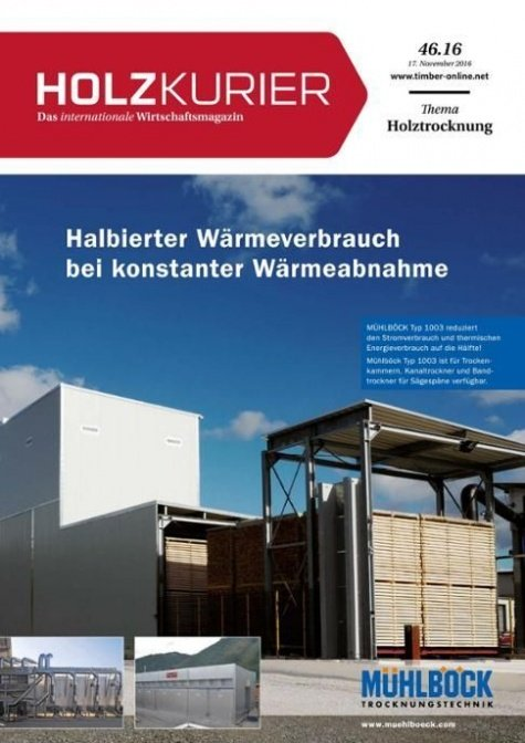 Holzkurier Digital Nr. 46.2016