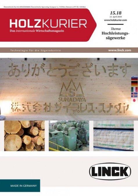 Holzkurier Digital Nr. 15.2018