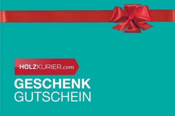 Holzkurier Geschenkgutschein 100€