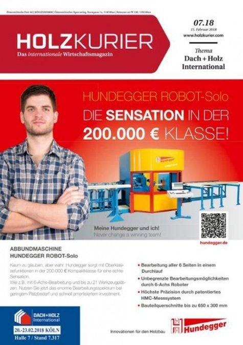 Holzkurier Digital Nr. 07.2018