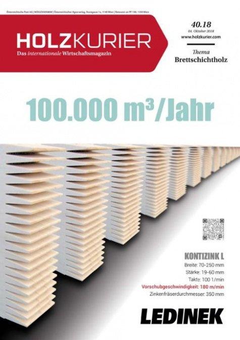 Holzkurier Digital Nr. 40.2018