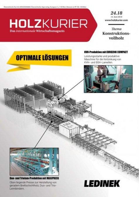 Holzkurier Digital Nr. 24.2018