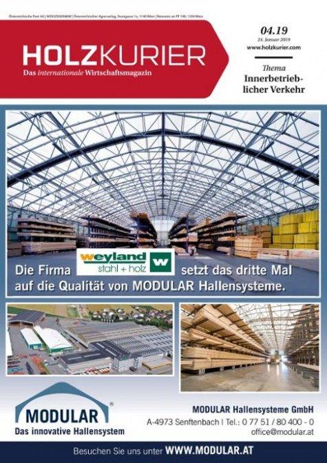 Holzkurier Digital Nr. 04.2019