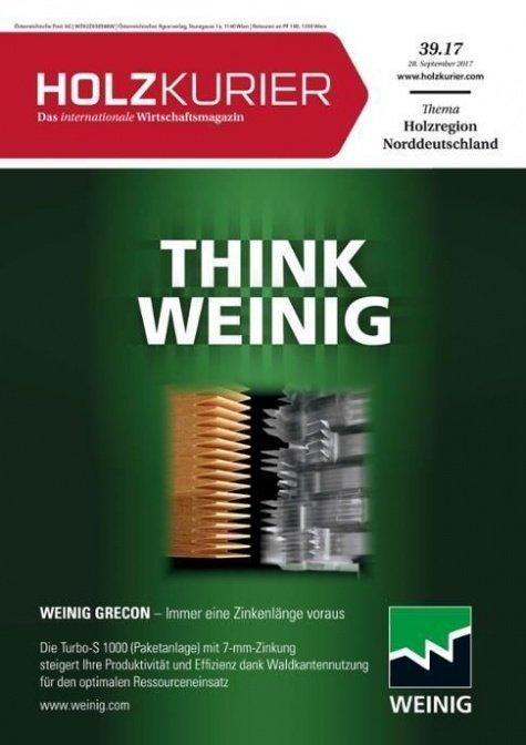 Holzkurier Digital Nr. 39.2017