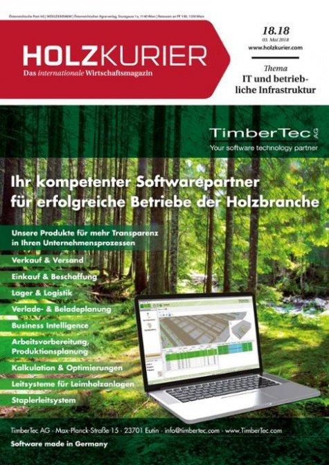 Holzkurier Digital Nr. 18.2018